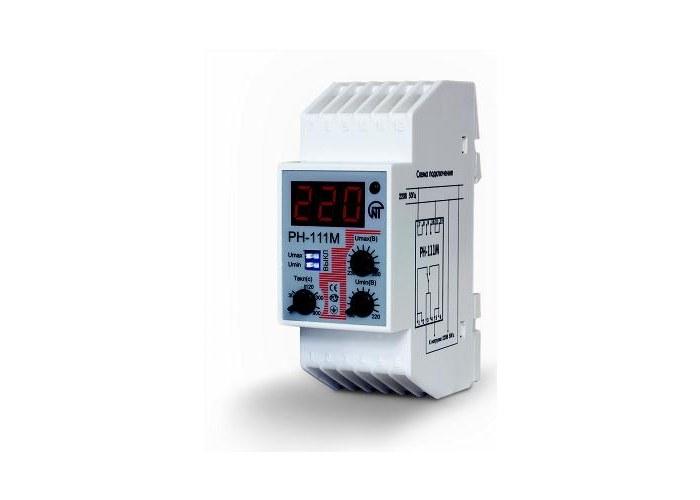 Реле напряжения РН-111М предназначено для отключения бытовой и промышленной 1-фазной нагрузки 220 В...